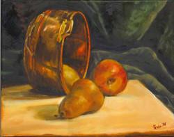 Apples & Pears, 12 x 16