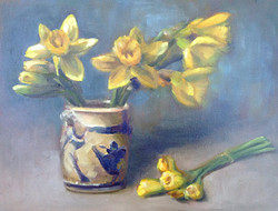 Daffodils in Pottery