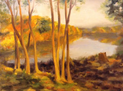 Sunrise at Johnson's Pond