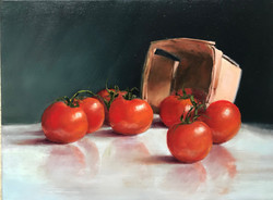 Tomatoes with Basket