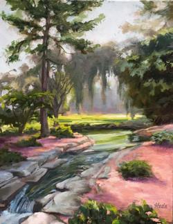 Longwoods Garden creek_11x14