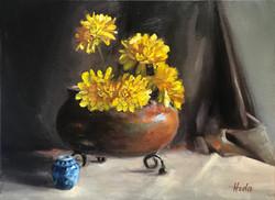 yellow Chrisantemums