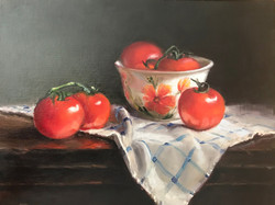 Tomatoes with Bowl