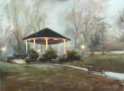 Mindowaskin Park in Fog