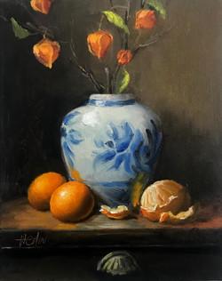 Ginger Jar and Oranges