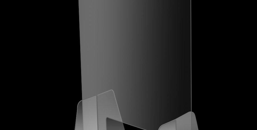 S1.1 Écran de protection fixe avec pattes et support de rétention