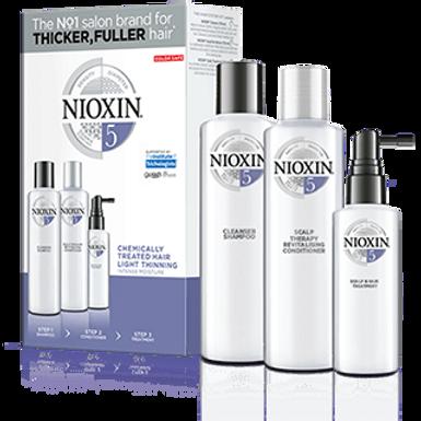 Trousse de soins capillaires Nioxin Trio Système 5