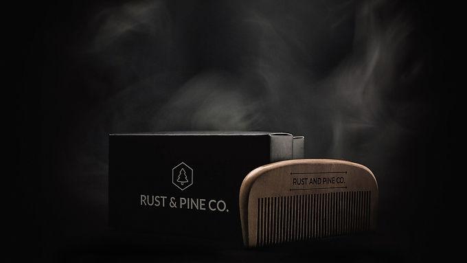 Peigne en bois Rust & Pine Co