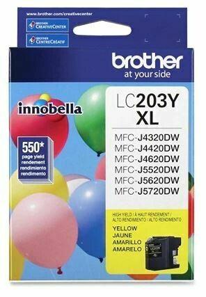 Brother LC203Y XL cartouche d'encre jaune haute capacité