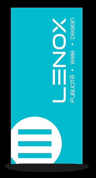 Agence Lenox est une agence de publicité située à Lac-Etchemin qui fait la conception graphique et l'impression de flyers cartonnés de tous styles: haut de gamme, Vernis UV, Dépliant, Brochure qui créeront un effet WOW pour vous distinguer de la concurrence.