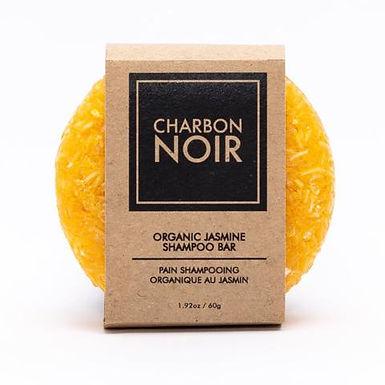 Pain Shampoing Organique au jasmin Charbon Noir 60g
