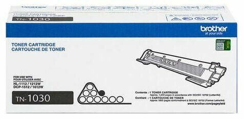 Brother - Cartouche de toner noir TN1030, rendement standard