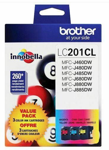 Brother LC2013PKS cartouche d'encre originale couleur combo C/M/Y