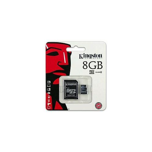 Carte Micro SD Kingston 8 Go