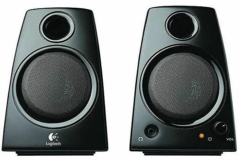 Haut-parleurs d'ordinateur 2.0 Z130 de Logitech - Noir