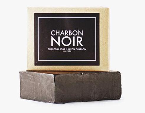 Barres Faciale Savon au charbon - Charbon Noir 150g