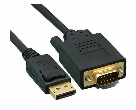 Câble adaptateur DisplayPort vers VGA de 1,8m/6pieds - M / M -