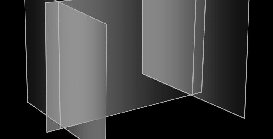 S2.3 Modèle économique, écran de protection autoportant avec murs ajustables