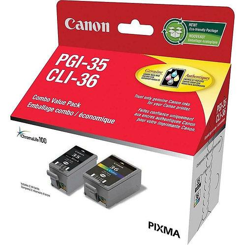 Cartouche CANON PGI-35 / CLI-36 Combo