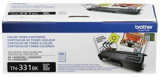 Brother - Cartouche de toner noir TN331BK rendement standard