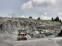 Sablière spécialisé dans la vente & transport de pierres concassées. Carrière Ste-Rose offre également les services d'excavation, transport de machinerie lourd.