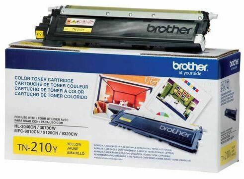 Brother – Cartouche de toner jaune TN210