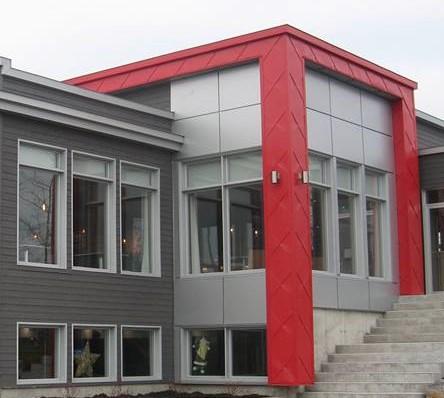 Panneau Architectural avec extrusion MMZ-3.2  (4)