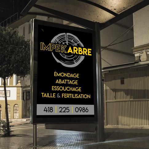 PUBLICITÉ D'AFFICHAGE | AGENCE LENOX | DESIGN & IMPRESSION | LAC-ETCHEMIN