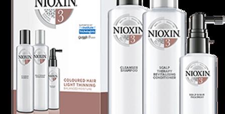 Trousse de soins capillaires Nioxin Trio Système 3