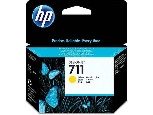 Cartouche HP 711 Jaune