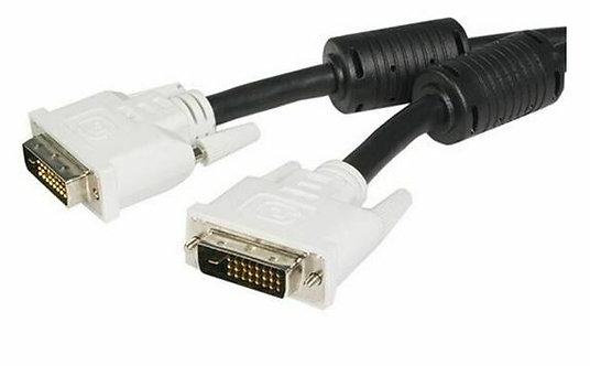 Câble DVI-D mâle/mâle 6 pieds/1.8m