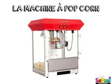 LA MACHINE À POPCORN