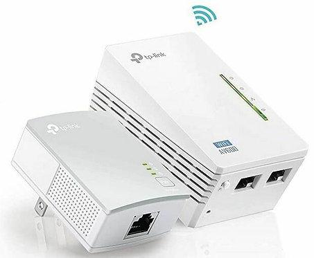 Extenseur de portée Wi-Fi 300Mops, Édition CPL AV600 de TP-LINK (TL-WPA4220KIT)