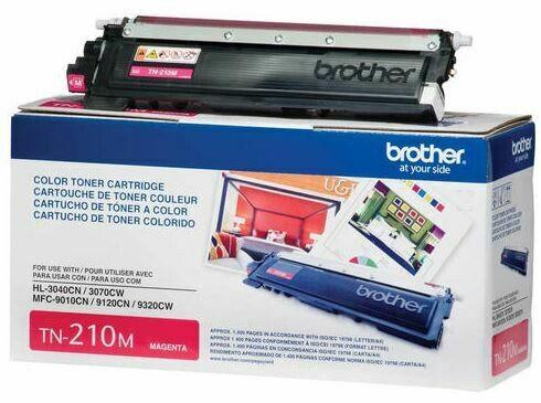 Brother – Cartouche de toner magenta TN210
