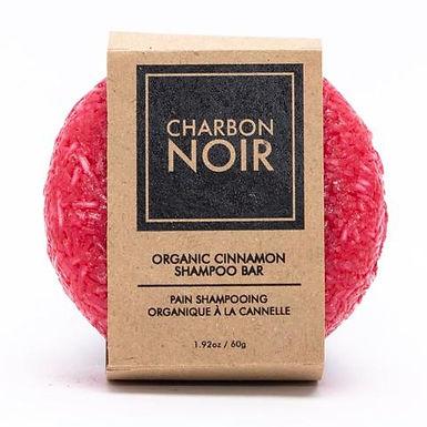 Pain Shampooing Organique Canelle Charbon Noir 60g