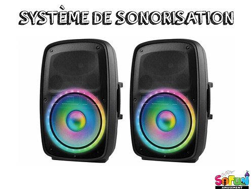 SYSTÈME DE SONORISATION