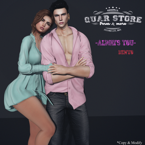 Quar Store - Always you  - Pose Bento