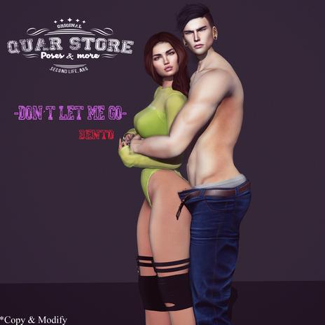 Quar_Store_-_Don´t_let_me_go_ Pose  Bento