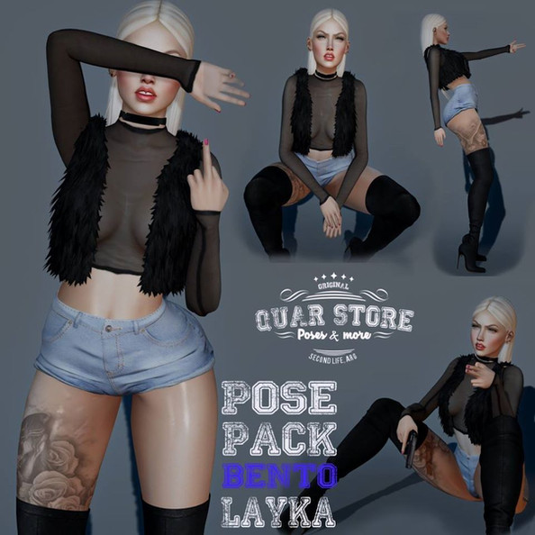 Quar Store - Layka Pose Pack Bento