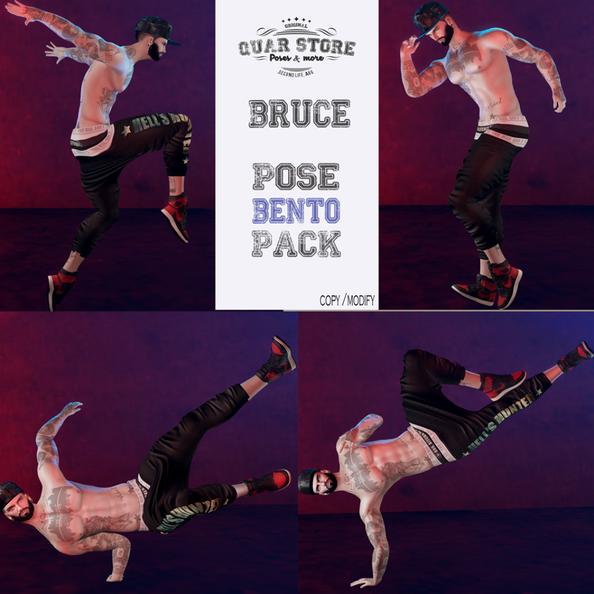 Quar Store - Bruce Pose Pack Bento