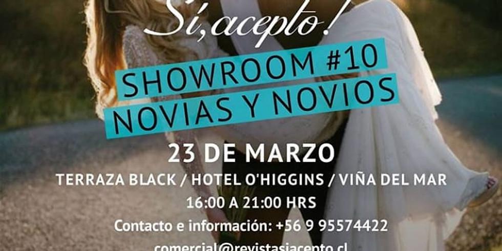 Showroom, revista Si acepto!