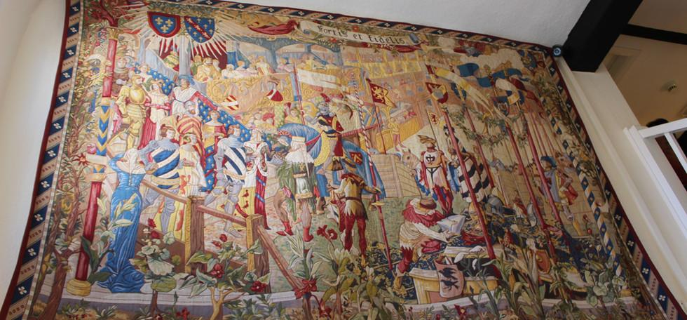 hallway grand tapestry