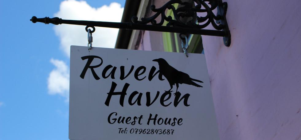 Raven Haven sign