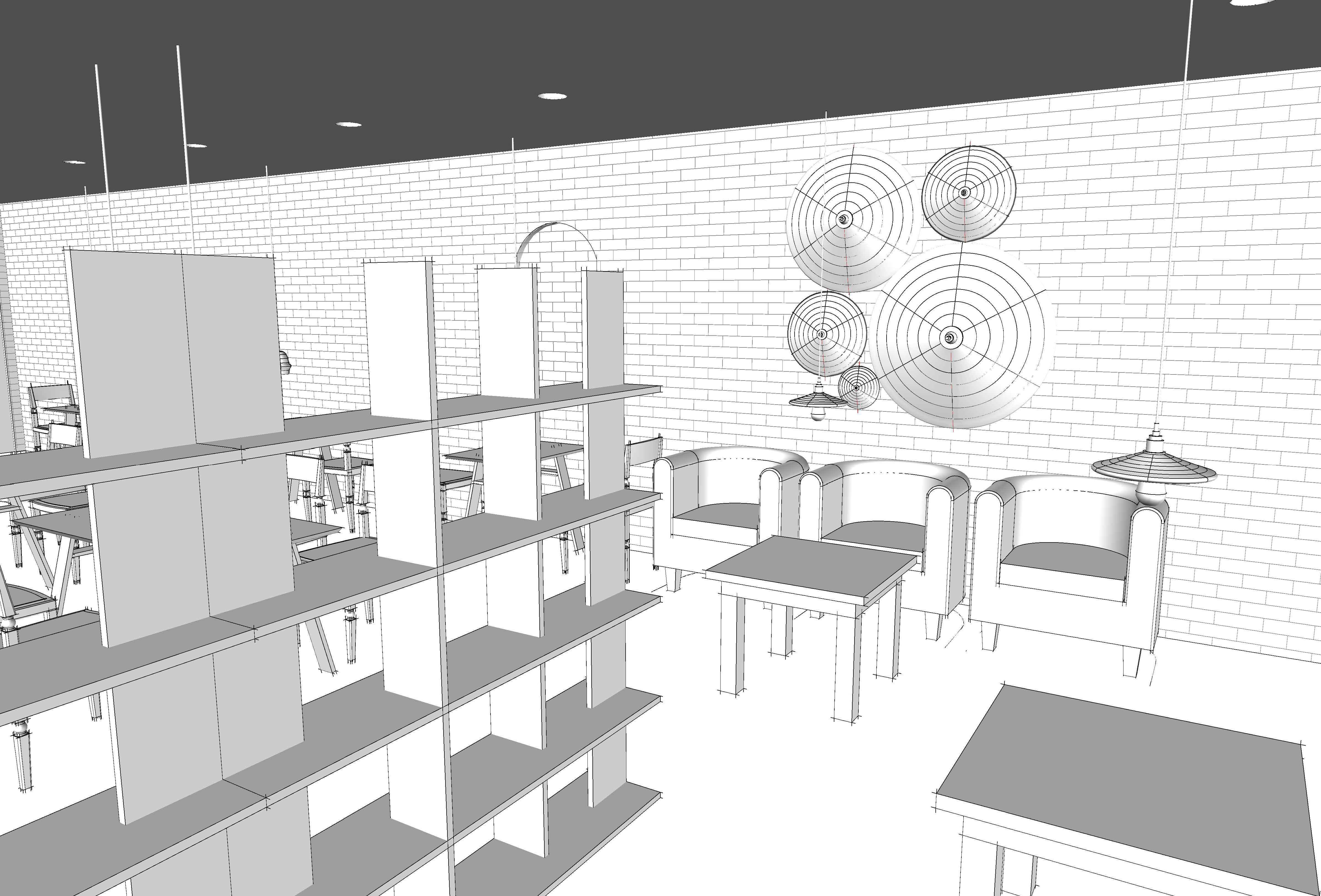 Mini Store Shelves