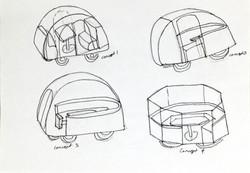 3D Concept Sektches