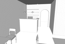 Counter - Entry to Kitchen