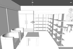 Waiting Area & Mini Store