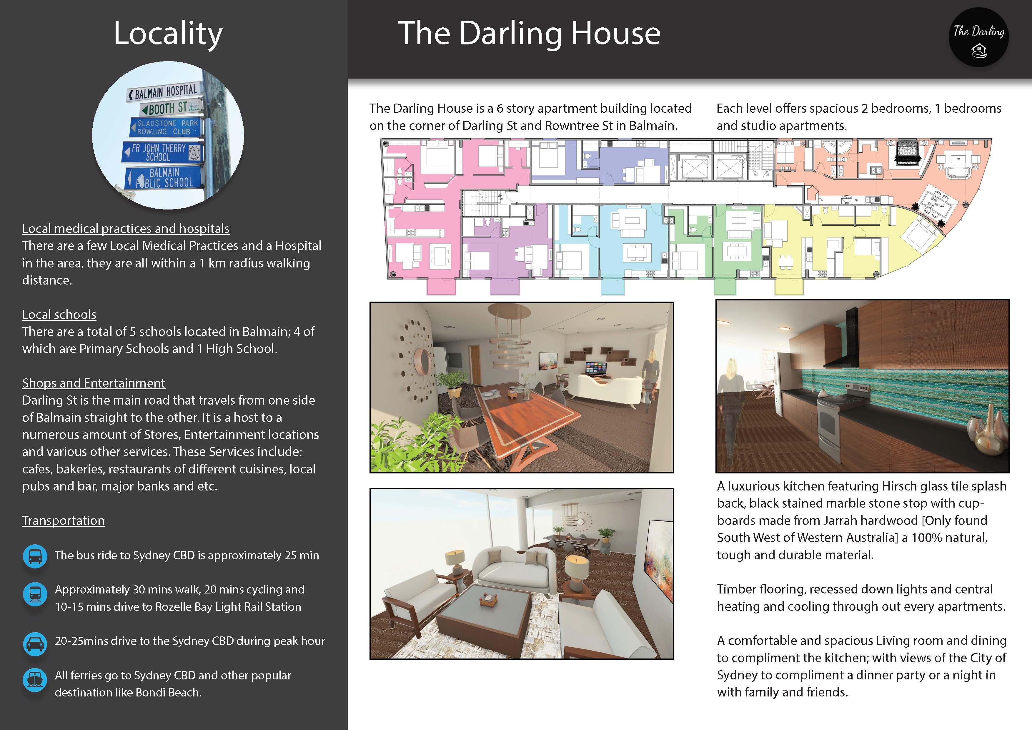 Tri fold Brochure Inside Page