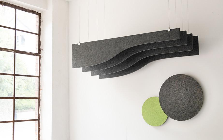 baffel wave + wall round