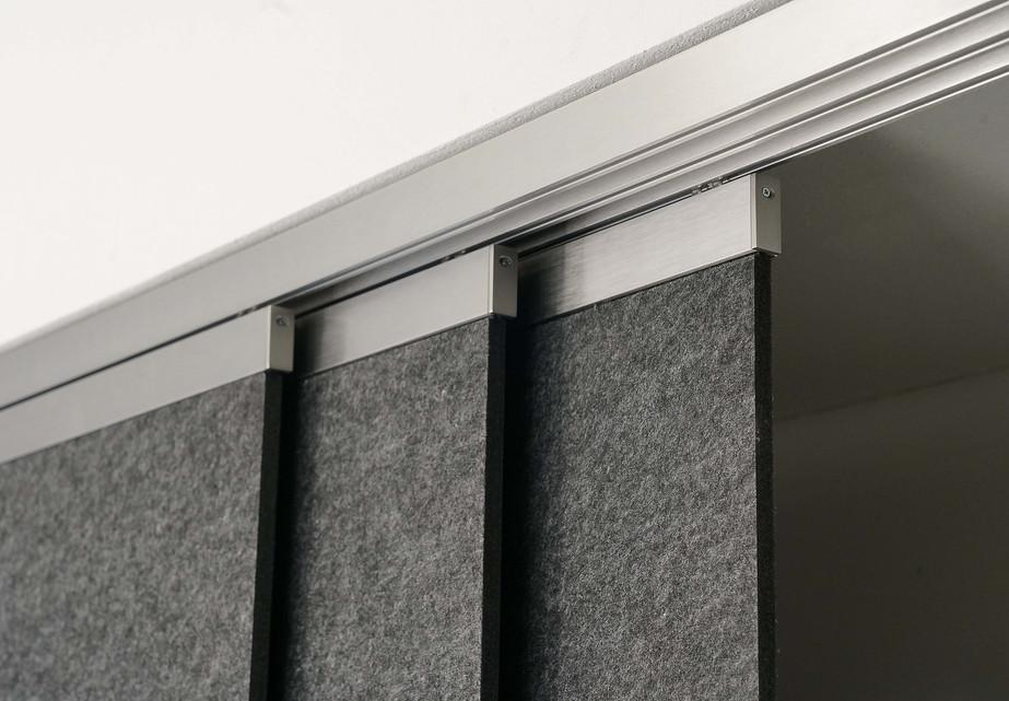 room devider Decke rail&roll
